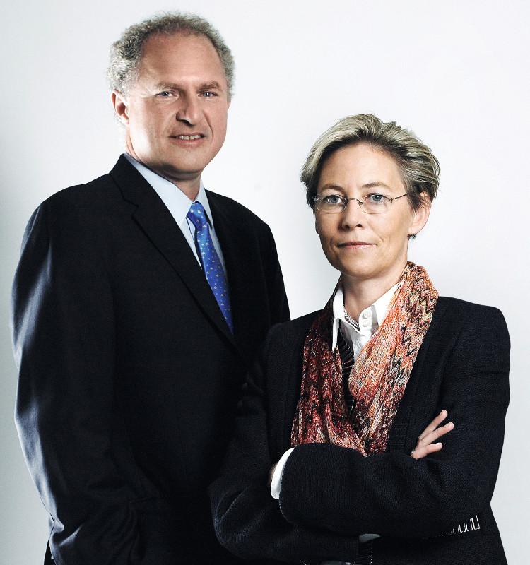 Alfred Nemetschke, Alexandra Huber ©NHK / Philipp Horak