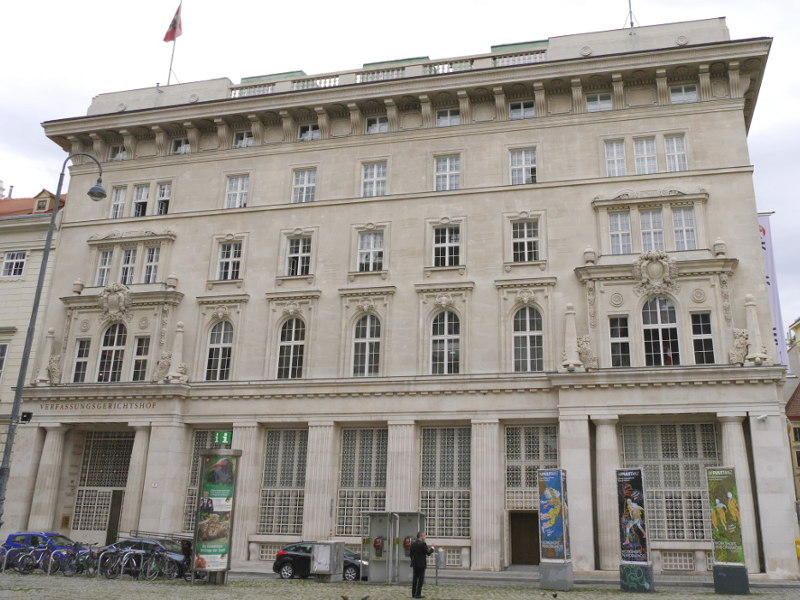 Verfassungsgerichtshof VfGH Sujet Credit ejn