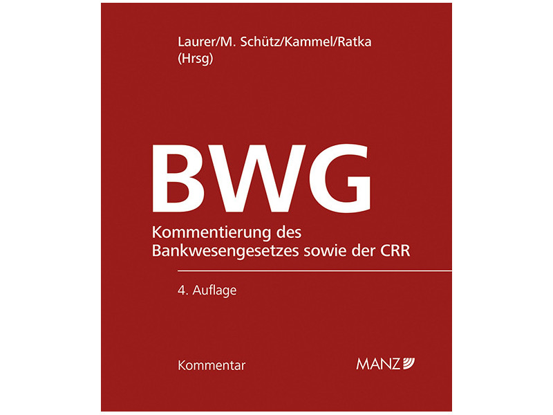 Bankwesengesetz c Manz