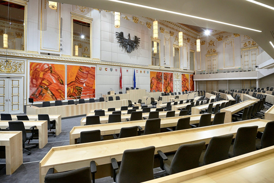 Hofburg Credit Parlamentsdirektion Johannes Zinner