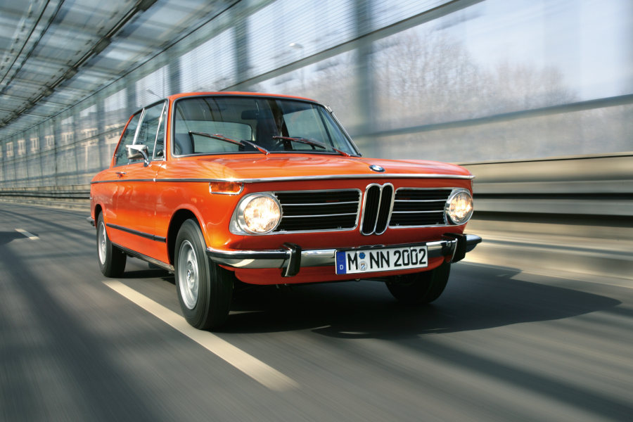 BMW 2002 Credit BMW AG
