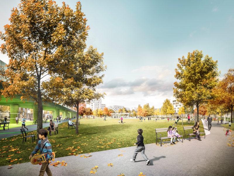 Park Am Seebogen Seestadt Aspern Credit Hager Partner