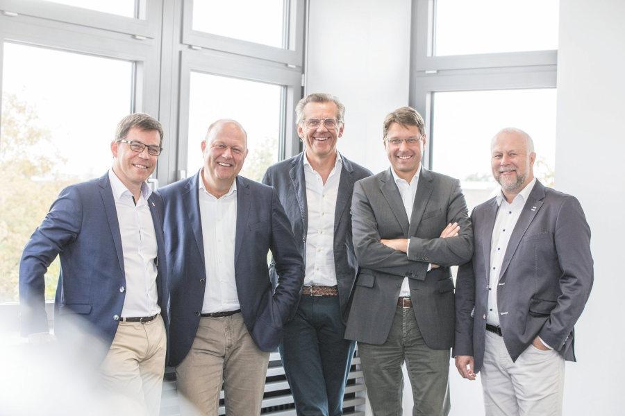 Knud Hansen Alexander v. Preen Mathias Boenke Hannes Rumer Frank Geisler Credit Intersport