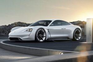 Konzept Studie Mission E wird Taycan Credit Porsche 300x200