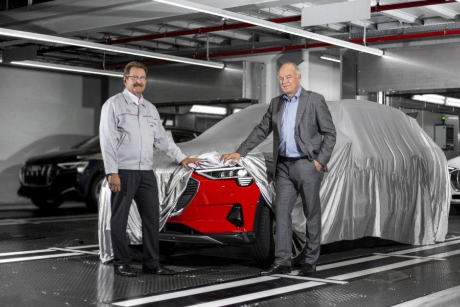 Patrick Danau Peter Kössler Credit Audi