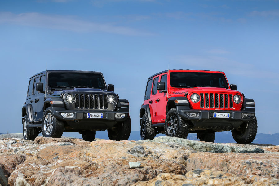 Jeep Wrangler Credit Jeep Fiat Chrysler Automobiles