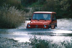 Mercedes Benz 300 GE der Baureihe 463 Station Wagen kurz Credit Daimler AG 300x200