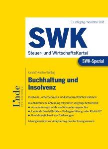 SWK Spezial Buchhaltung und Insolvenz c Linde 217x300