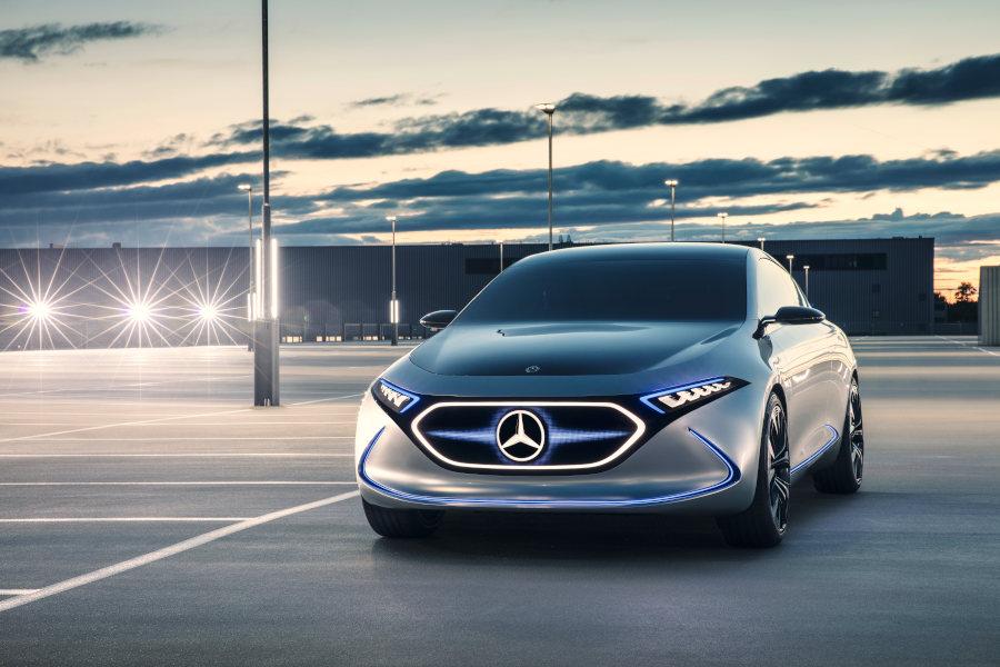 Mercedes EQA Credit Daimler AG