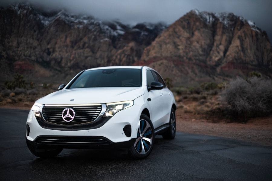 Mercedes EQC Credit Daimler AG