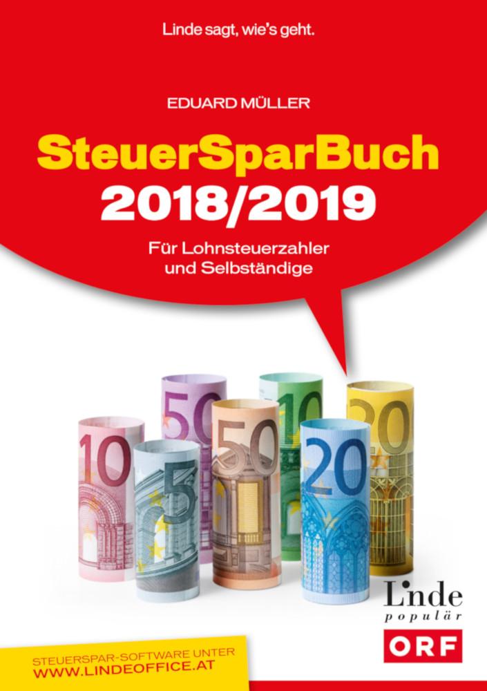 SteuerSparBuch 2018 2019 c Linde
