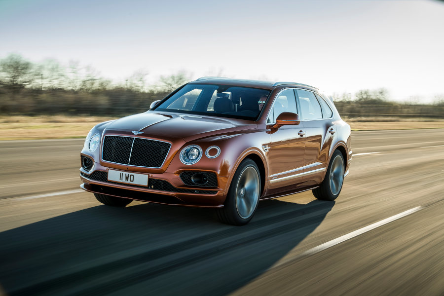 Bentayga Credit Bentley