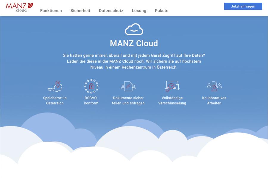 MANZ Cloud c Manz