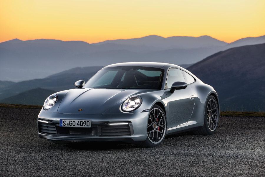 Porsche 911 Carrera 4S Credit Porsche 2