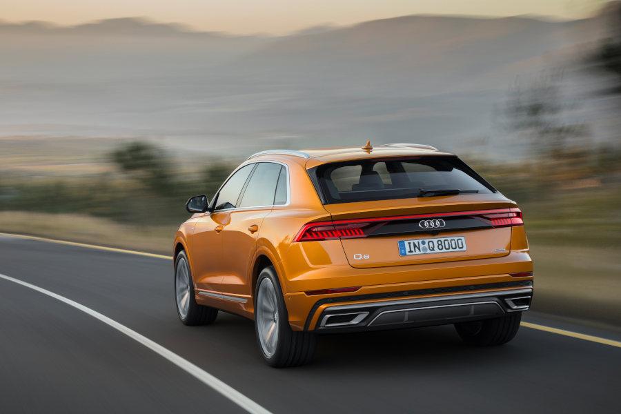 Audi Q8 Credit Audi