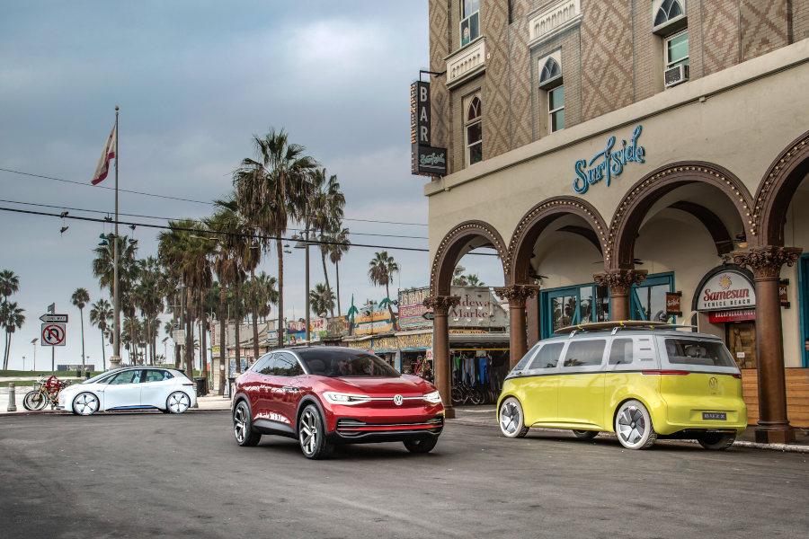 VW ID Crozz und Buzz Credit Volkswagen