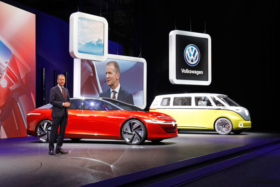 VW ID Vizzion und Buzz Credit Volkswagen
