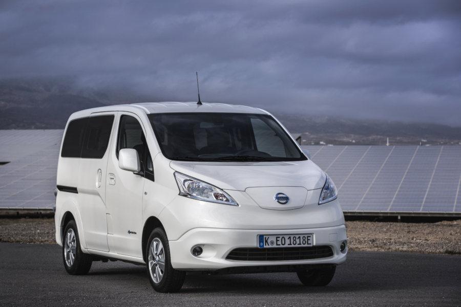 Nissan e NV200 Credit Nissan