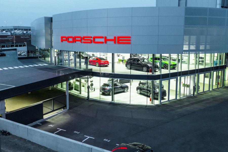 Porsche Zentrum Wien Liesing Credit Porsche