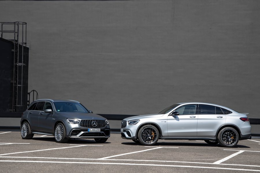 Mercedes Benz GLC SUV und Coupé Credit Daimler AG Rebmann
