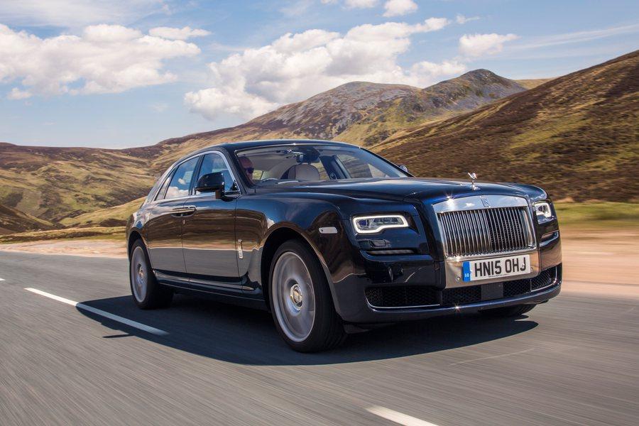 Rolls Royce Ghost Credit Rolls Royce Mark Bramley