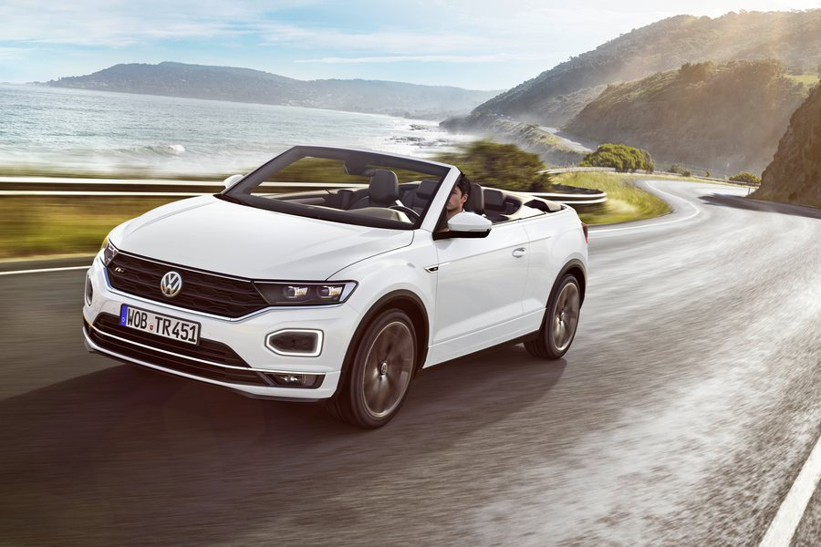 VW T Roc Cabrio Credit VW