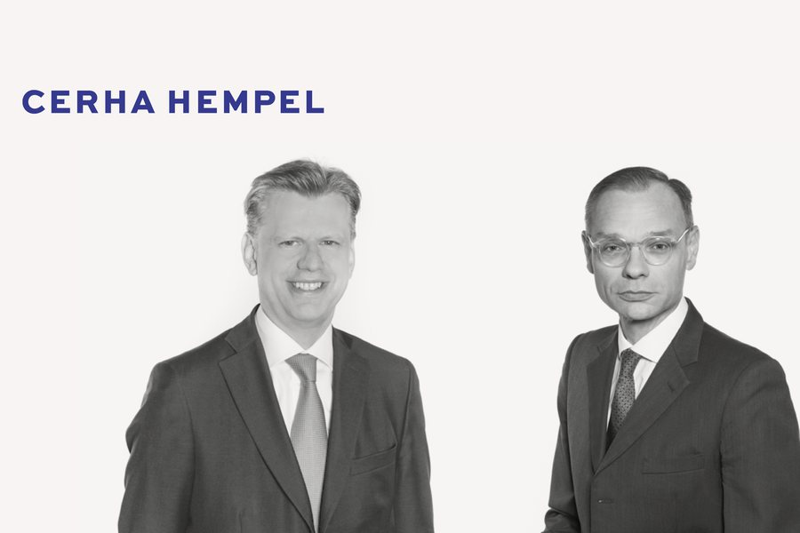 Clemens Hasenauer Albert Birkner Credit Cerha Hempel