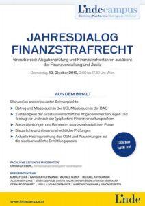 Finanzstrafrecht c Linde 212x300