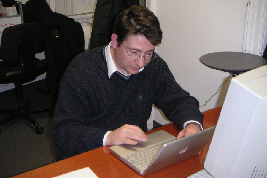 Forgó in den Anfängen Credit Sammlung Universitätslehrgang Informationsrecht