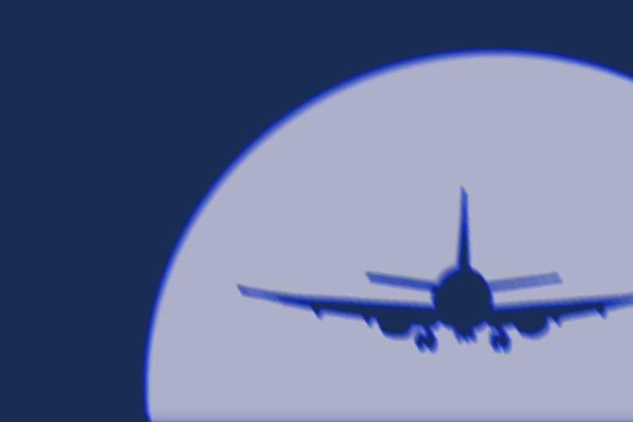 Sujet Flugzeug blau 2 Credit ejn