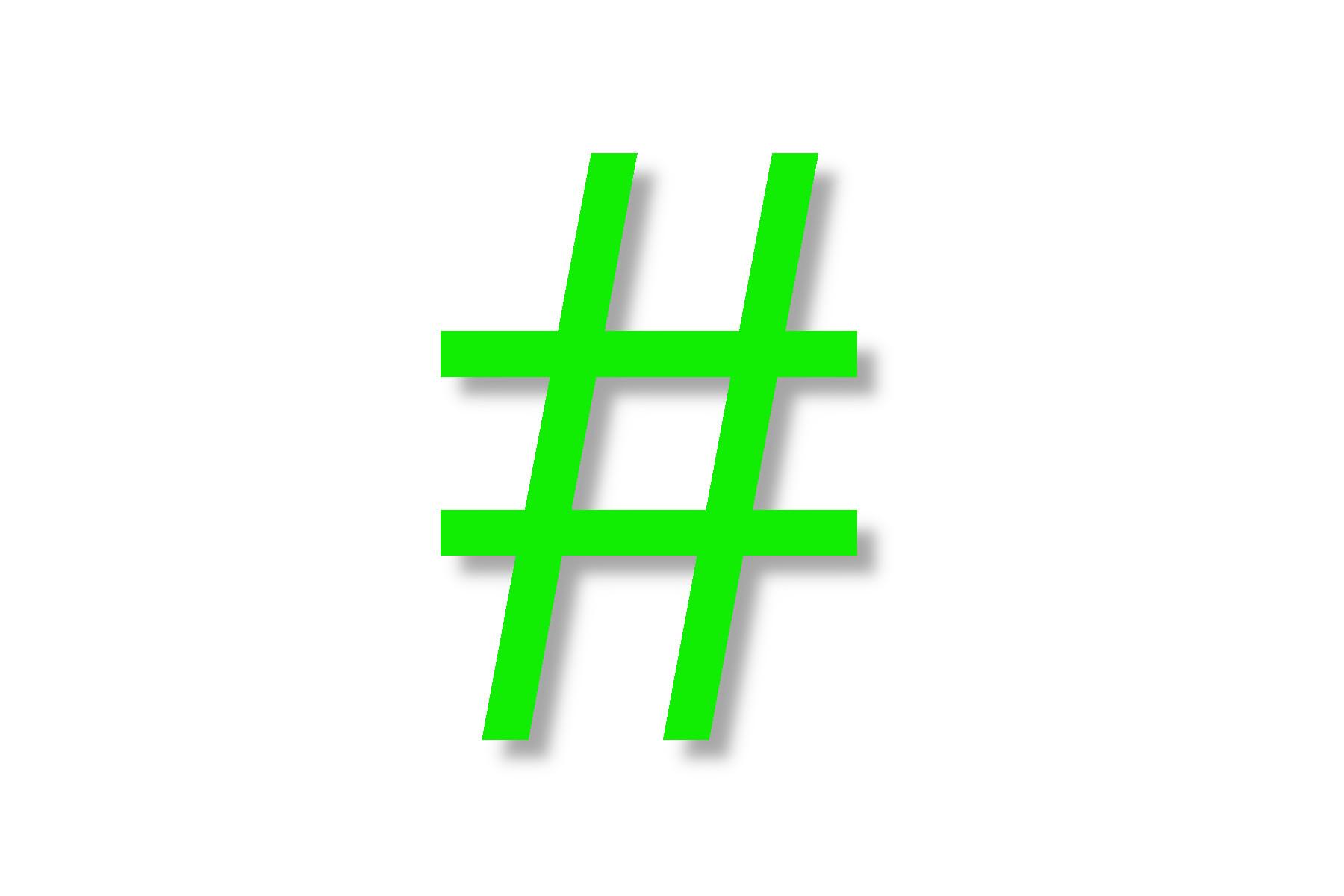 Sujet Hashtag Credit ejn