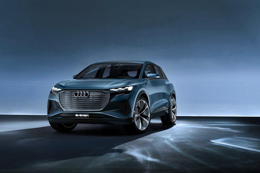 Audi Q4 e tron Concept Credit Audi