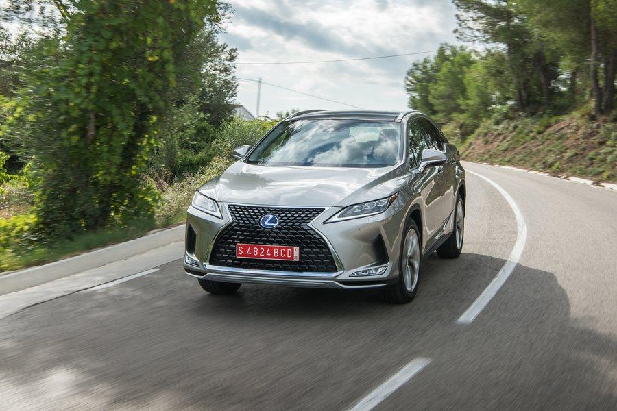 Lexus RX 450h Credit Lexus Jayson Fong
