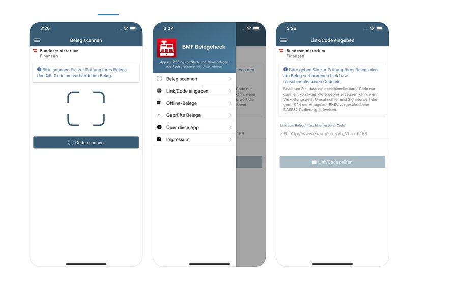 BMF Belegcheck App Credit BMF iTunes