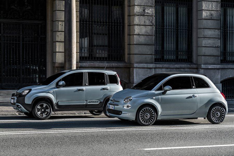 Fiat 500 Hybrid und Fiat Panda Hybrid Credit Fiat Chrysler Automobiles