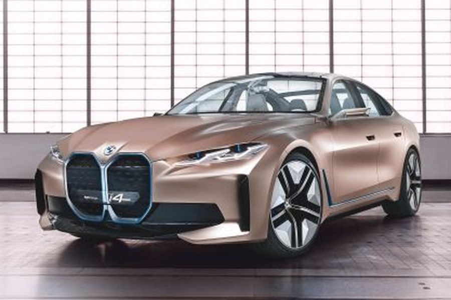 BMW Concept i4 Exterieur Credit BMW Group