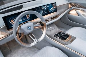 BMW Concept i4 Interieur Credit BMW Group 300x200