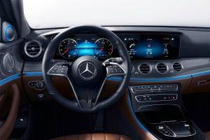 Mercedes Benz E Klasse Interieur Credit Mercedes Benz 300x200