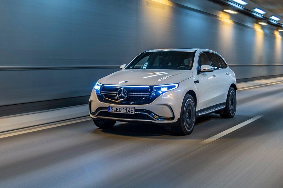 Mercedes Benz EQC Credit Daimler AG