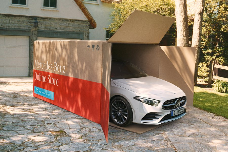 Mercedes Benz Neuwagen Lieferservice Credit Mercedes Benz