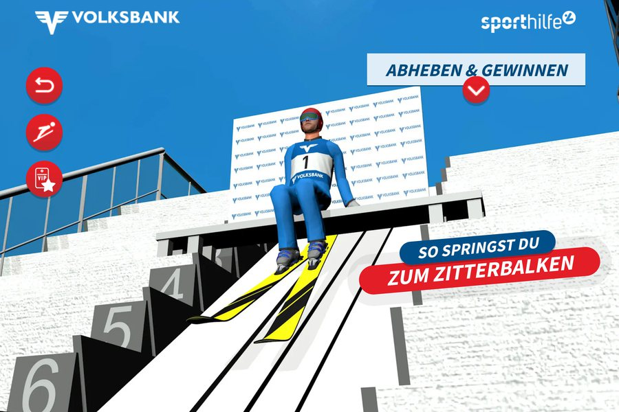 Online Skispringen Credit Volksbanken Sporthilfe