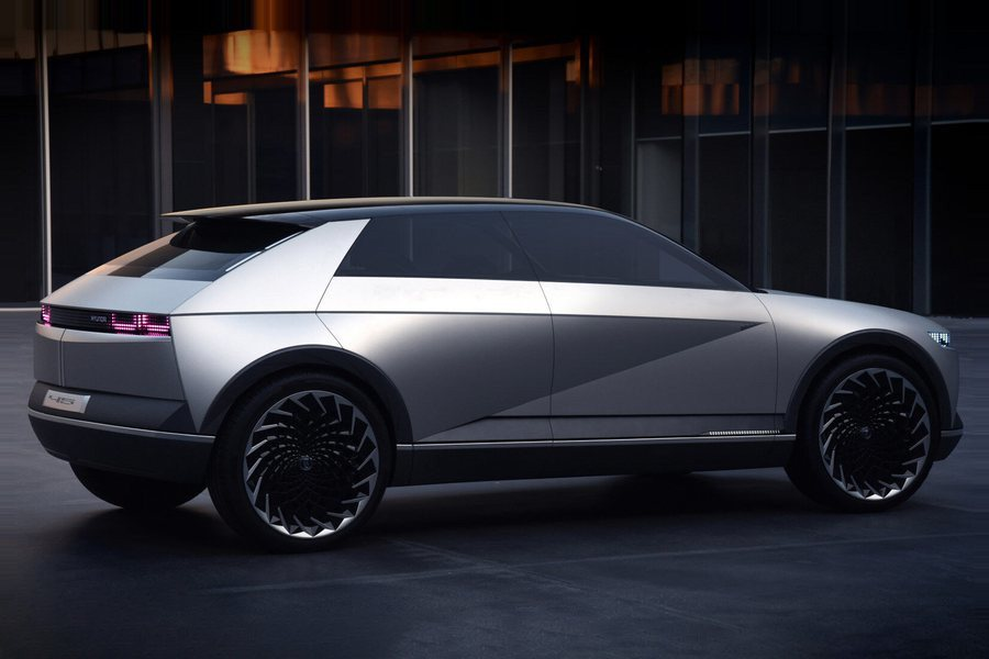 Hyundai 45 EV Concept Credit Hyundai