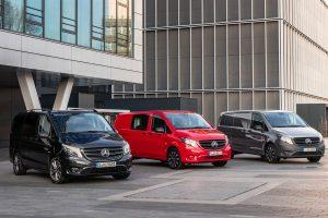 Mercedes Benz Vito Tourer Mixto und Kastenwagen 2020 Credit Daimler AG 300x200