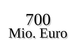 Sujet 700 Mio. Euro Credit ejn 300x200