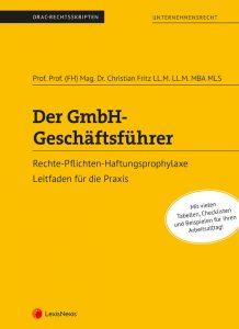 Der GmbH Geschäftsführer Credit LexisNexis 218x300