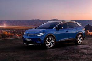 Der VW ID.4, das neue E-SUV von Volkswagen