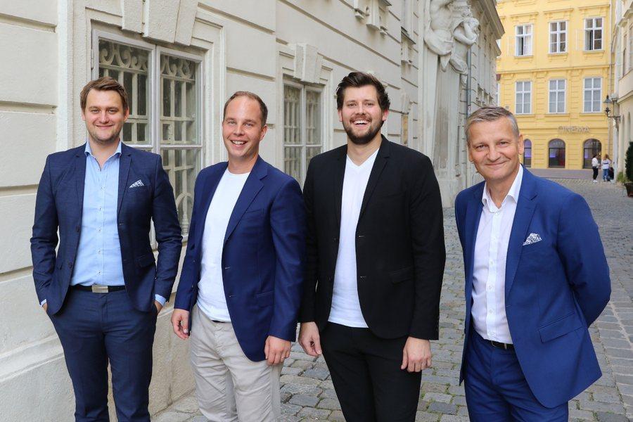 LawStar Team mit Gordan Gajski Credit Linde Verlag