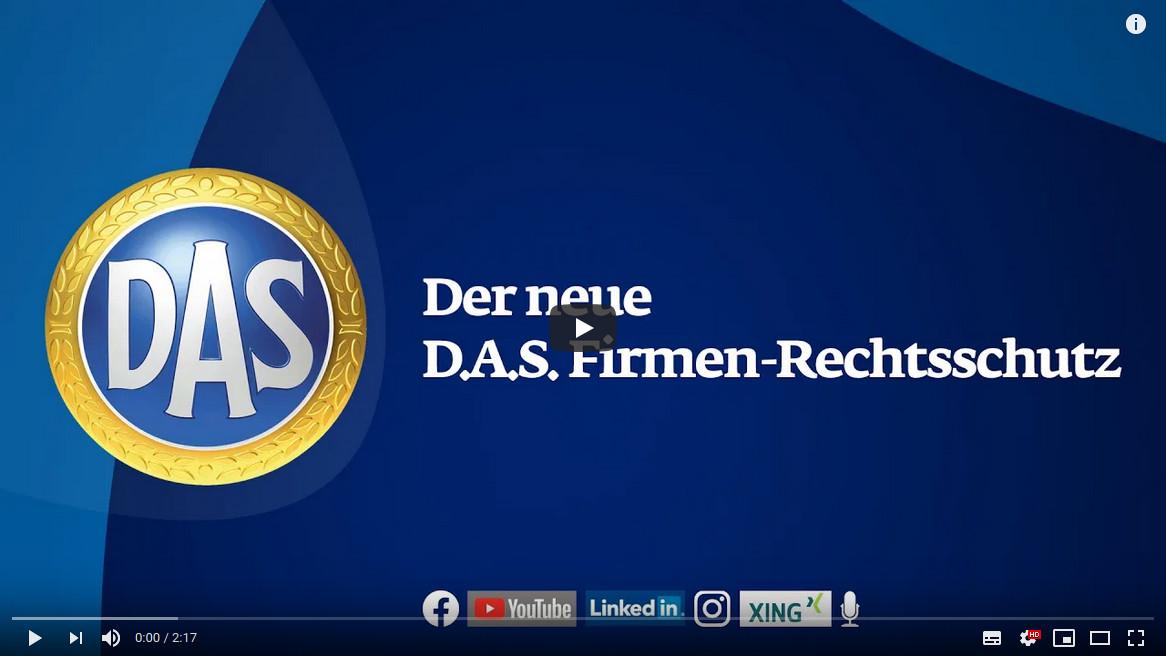 YouTube Video D.A.S. Firmenrechtsschutz
