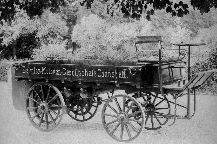 Der erste Lkw Credit Daimler