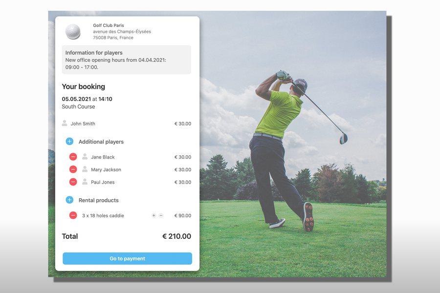 Golf Credit Nexxchange